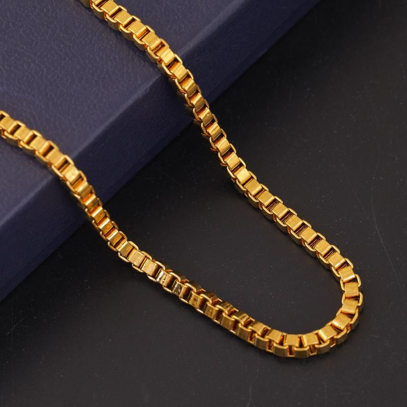 colors men pin platinum chains chain jewelry wide necklace plated mm snake or gold real