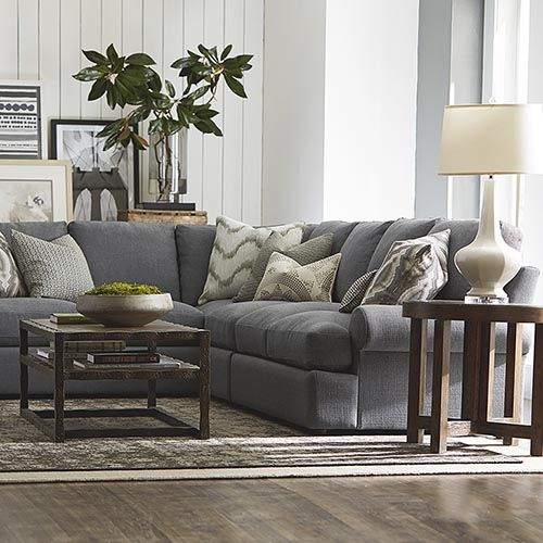 Color Theory Creating A Home Color Palette Grey Sectional Sofa Gray Sectional Living Room Bassett Furniture Living Room