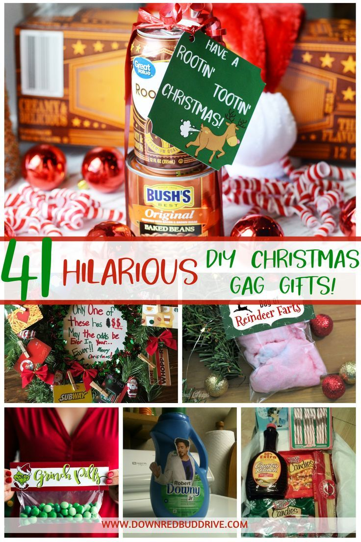 DIY Christmas Gag Gifts | Christmas Gag Gift IDeas | Funny Christmas Gag Gifts | White Elephant Gift Exchange Gifts Funny | White Elephant Gift Ideas | DIY Christmas Gag Gifts | DIY Funny Christmas Gifts | Gag Gifts DIY | Joke Gifts | DIY White Elephant Gifts | DIY Christmas Gifts | Down Redbud Drive #diychristmasgifts #diychristmasgaggifts #diygaggifts #whiteelephantgifts #christmasfunny