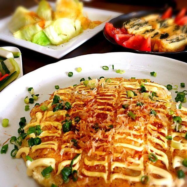 キャベツ お好み焼き 豆腐
