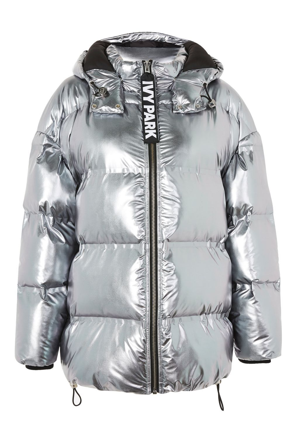 cfe210926 Pewter Bonded Puffa Jacket by Ivy Park - Jackets & Coats - Clothing ...