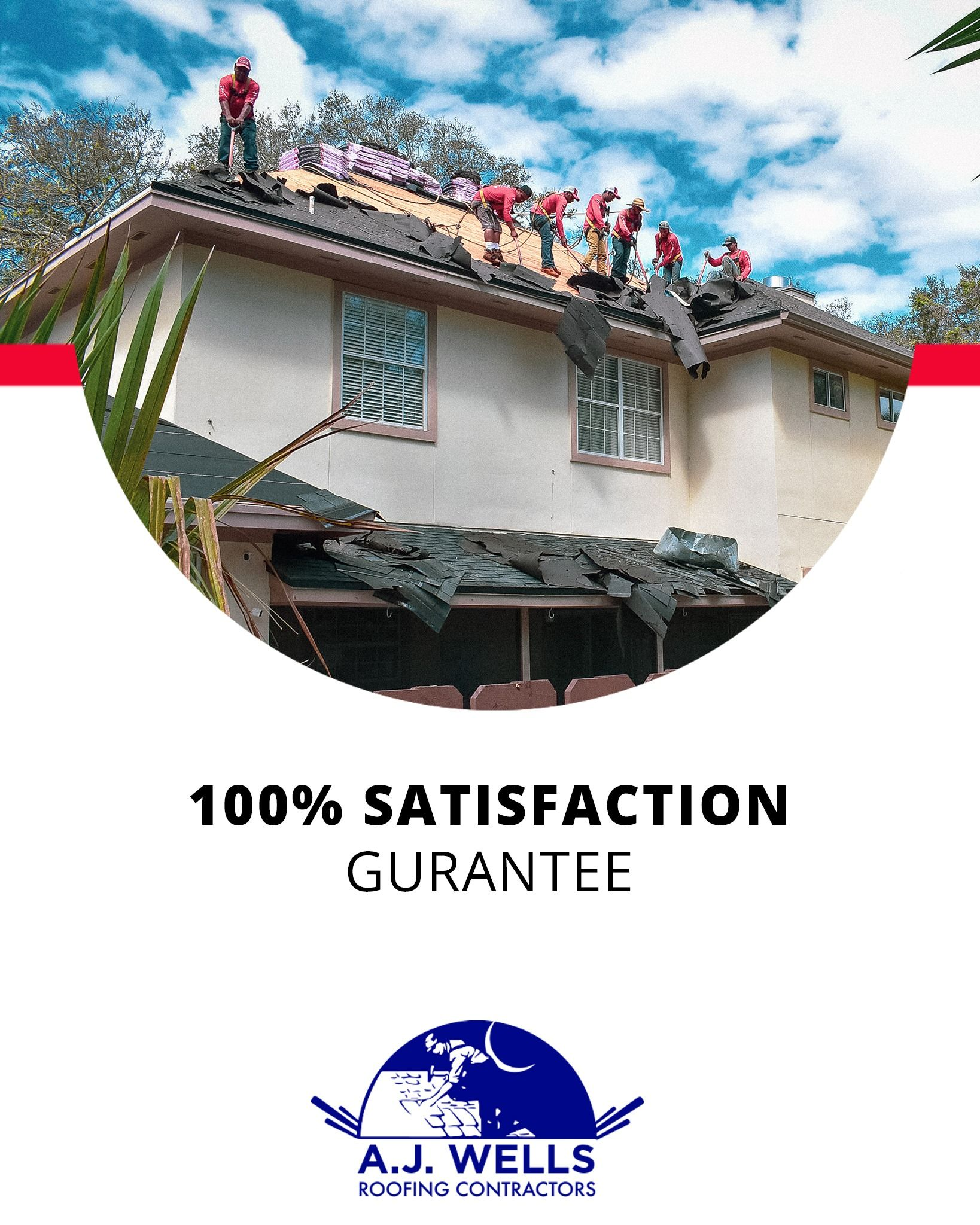 Bravery Strength Quality And Detail No Job A J Wells Roofing