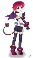 Ranma cosplay as Etna by HandsofMidaz