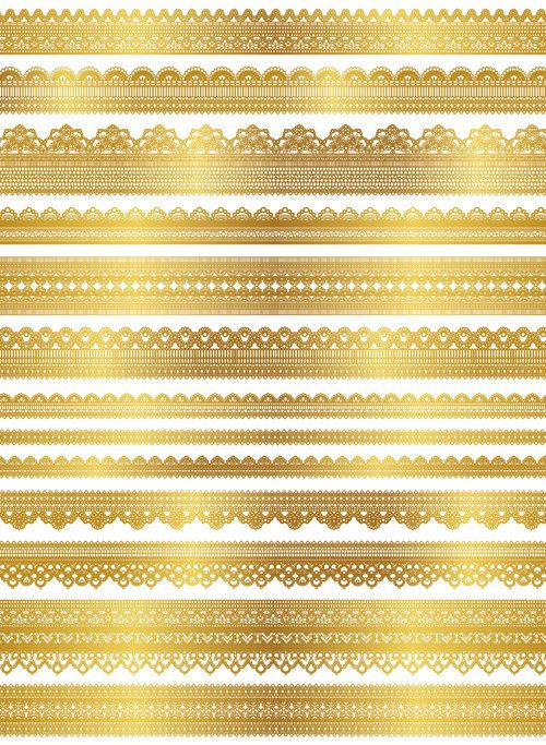 Instant Download Digital Gold Lace Dolly Clipart Golden Lace Etsy In 2021 Gold Lace Clip Art Gold Wallpaper Background