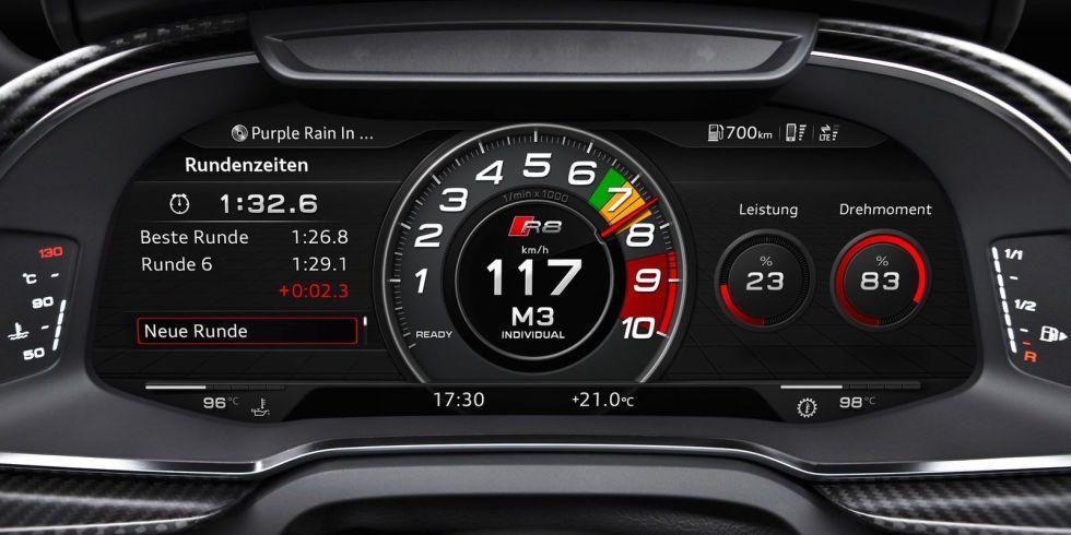 Thirteen Of The Coolest Digital Gauges Ever Made Car Gauges Digital Gauge Audi R8