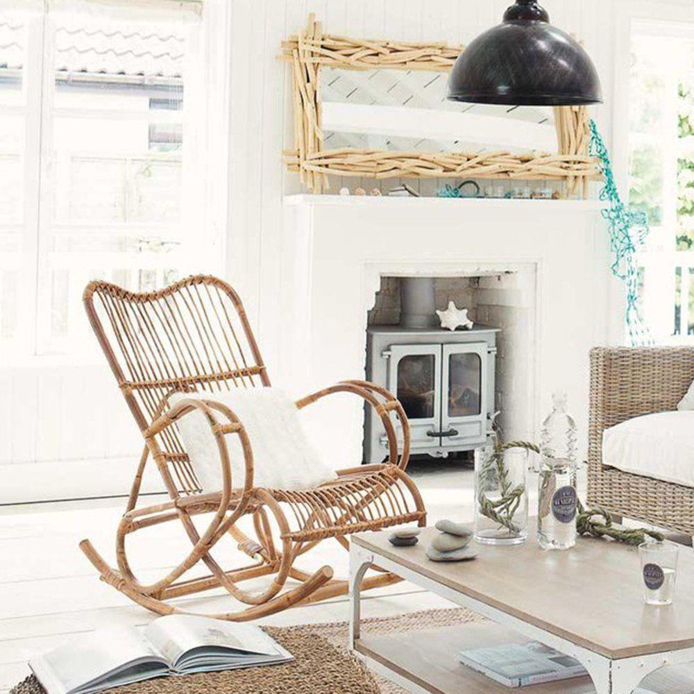 12 rocking chair pour chiller tout l\'hiver   Rotin, Maison du ...