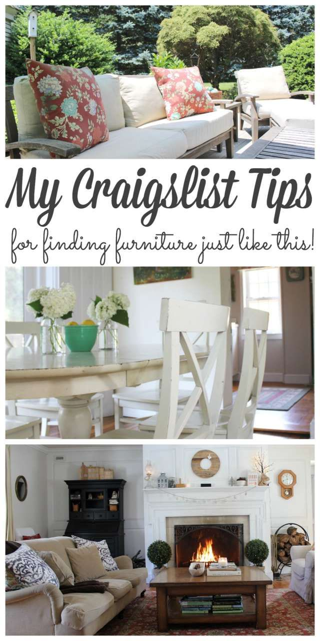 Decorating on a Budget 3 Craigslist Tips to Find the Best