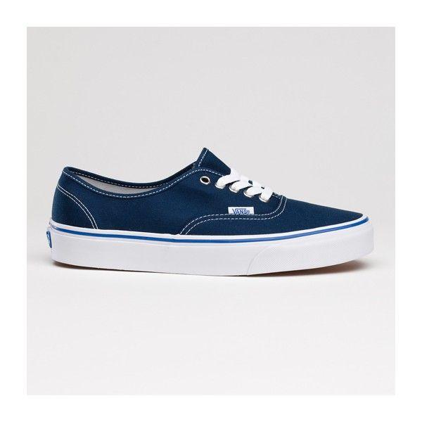 538aff06d0 Bleu Marine · Vans Shoes Authentic Core Classic Canvas Sneakers Navy Blue  Chaussures Converse Pas Chères