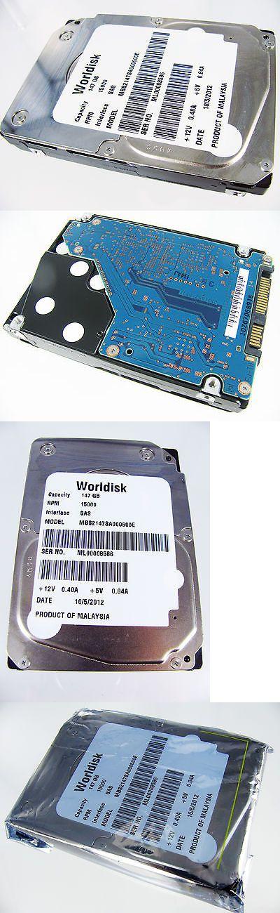 "Lot of 10 Fujitsu Worldisk MBE2147RC 147GB 15K RPM 2.5/"" SAS HDD MBS2147SA000600E"