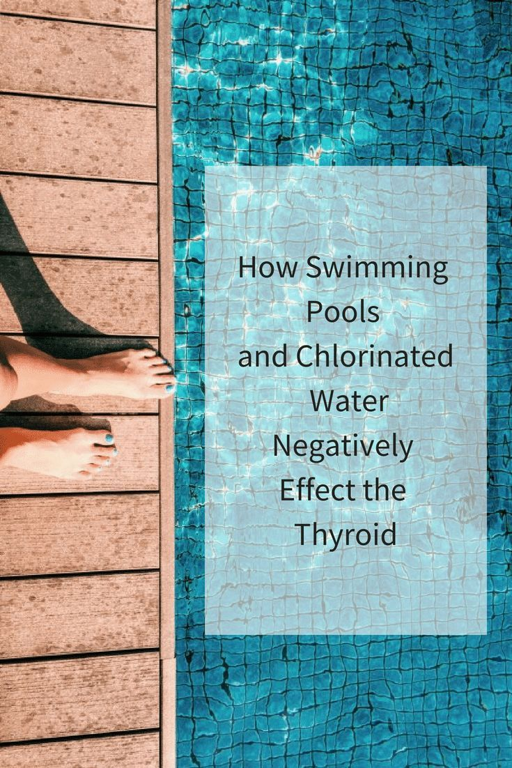 How swimming pools tap water fluoride and bromide