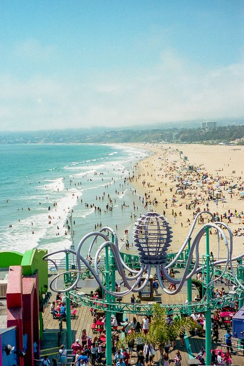 The Fun And Famous Santa Monica Pier Our Top Selections Of Healthy Delicious Places To Dine In That Should Not Be Missed