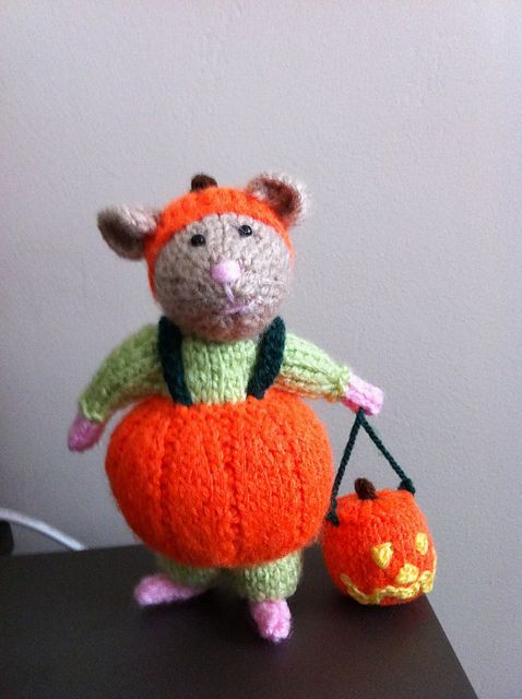 Halloween Hamsters pattern by Alan Dart | Halloween häkeln ...