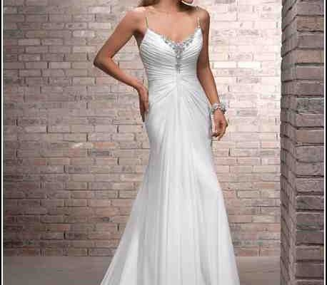 Ruching On A Wedding Dress