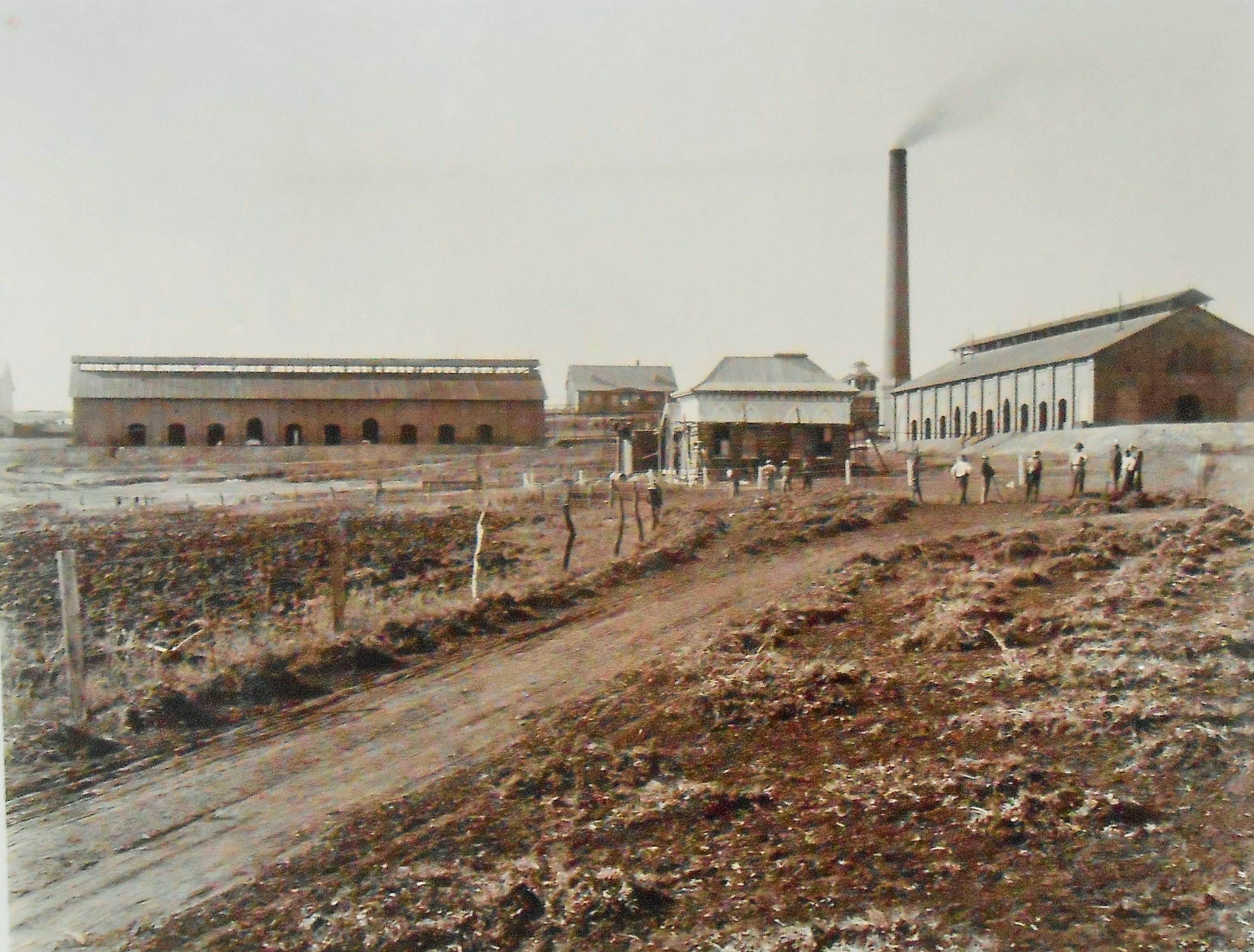 Early View Of The Modderfontein Dynamite Factory Aeci Dynamite Company Museum Explosion Cemeteries Cityscape