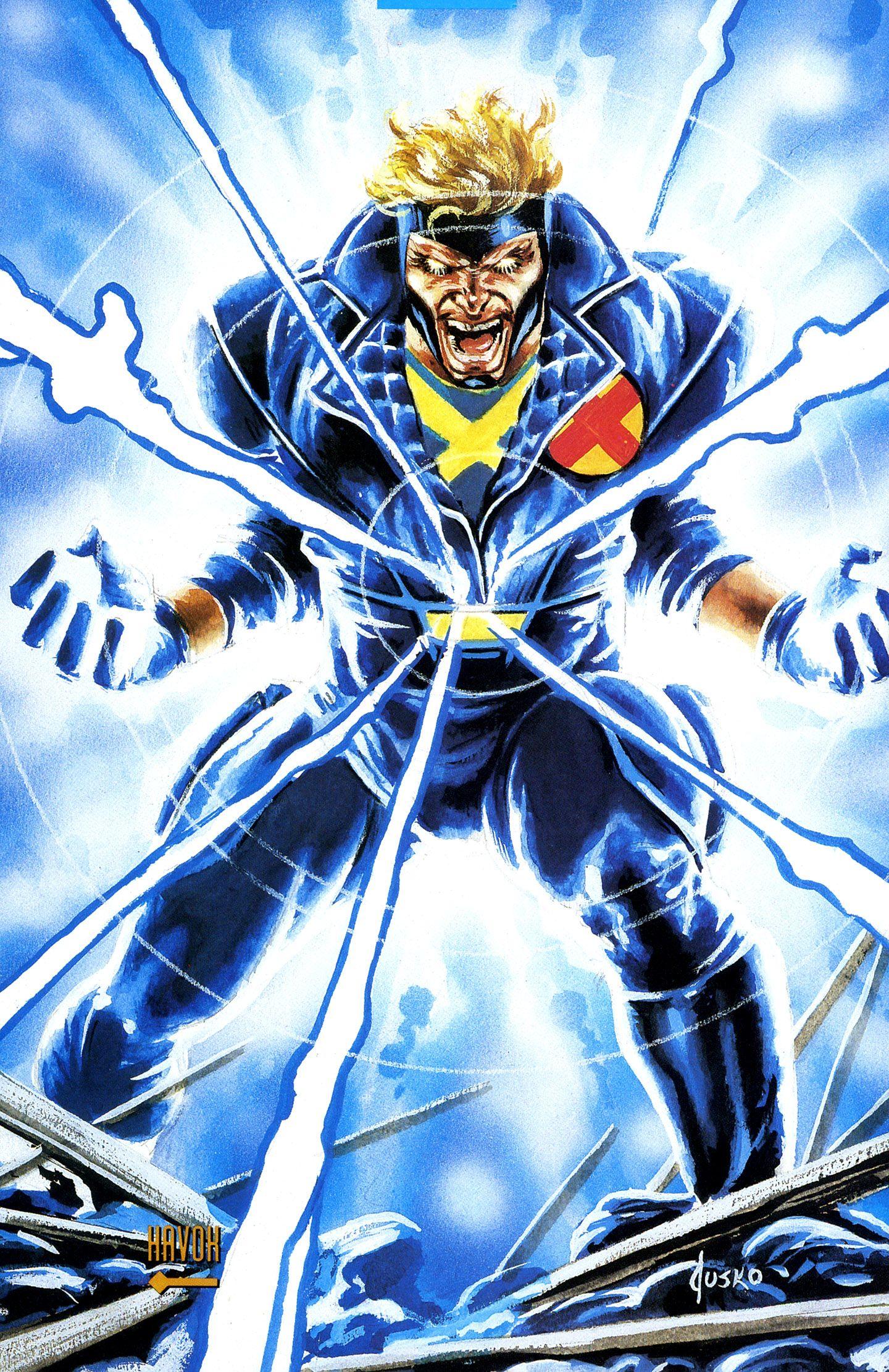 Havok by Joe Jusko (X-Factor Suit) | Character: Havok ...