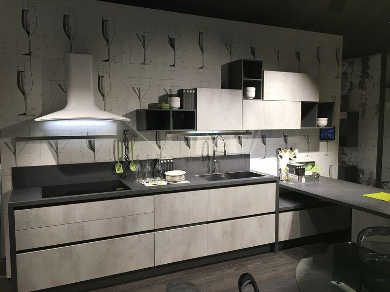 Cucina Lube mod. Immagina Neck | Cucine nel 2019 | Cucina, Kitchen ...