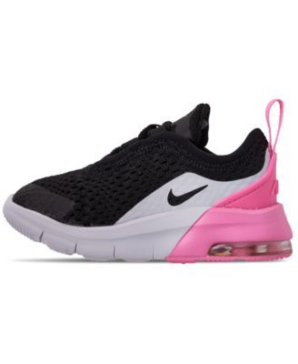 315cd6398bec5 Nike Toddler Girls' Air Max Motion 2 Casual Sneakers from Finish Line -  Black 10