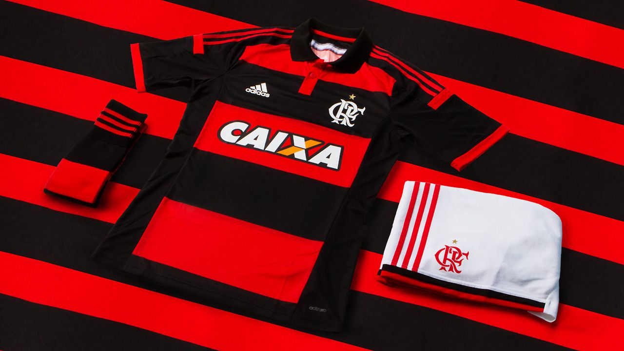 adidas 2014-15 Clube de Regatas do Flamengo Home Kit  13b9b1766