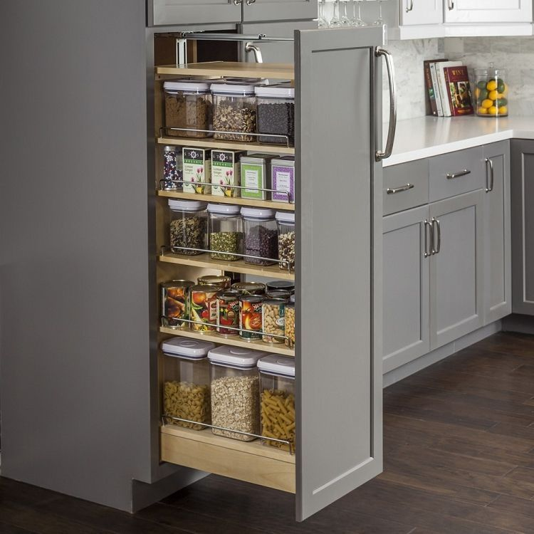 Pull Out Pantry 6 Inch Openings Kitchencupboard Best Kitchen Cabinets Wood Pantry Cabinet New Kitchen Cabinets