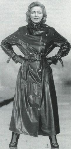 Vintage SBR mackintosh  | 1 | Rubber raincoats, Black