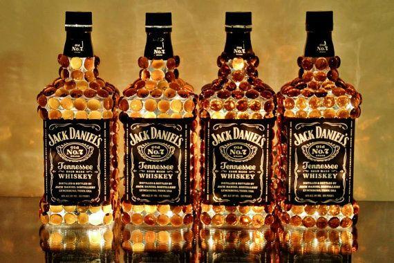Large 1 2 Gallon Jack Daniel S Bottle Light By Quirkycreationsinc 50 00 Jack Daniels Bottle Jack Daniels Whiskey Bottle Bottle Lights