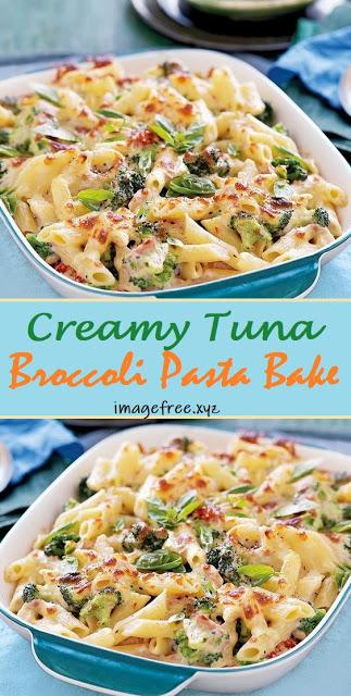 Creamy Tuna Broccoli Pasta Bake Cooking Broccoli Pasta Bake Healthy Tuna Recipes Healthy Pasta Bake