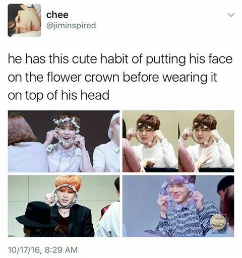 Awwww Another One Of Jimin S Cute Habits Bts Boys Bts Bangtan Boy Bts Memes