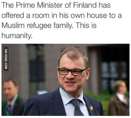 Finland, apart from the Melodeth Metal they make, they're awesome people. I love you Finland