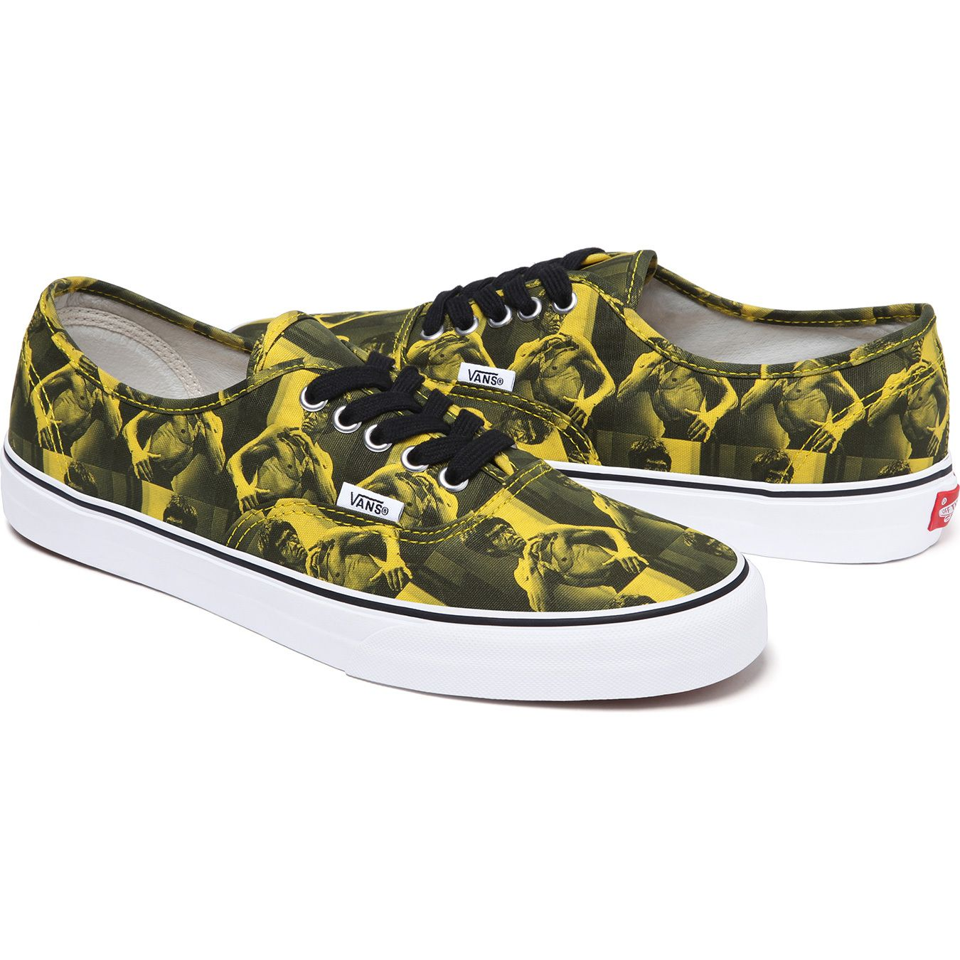 a876878a96 Supreme Bruce Lee Vans Authentic - Yellow