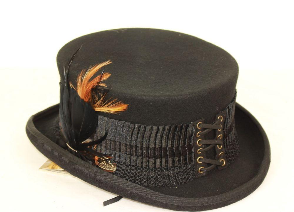 a644d9e6346 Conner Ladies Steampunk Hat  ConnerHats  Steampunk  SpecialOccasion ...
