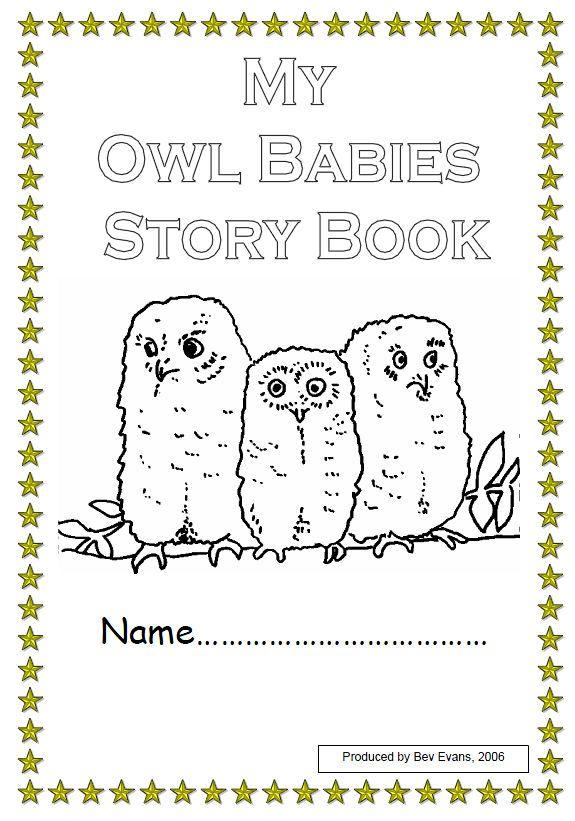 Owl Babies Story Workbook Owl Babies Book Baby Owls Babies Stories