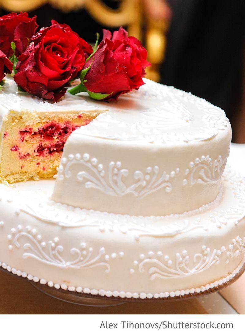 Hochzeitstorten 1 stockig