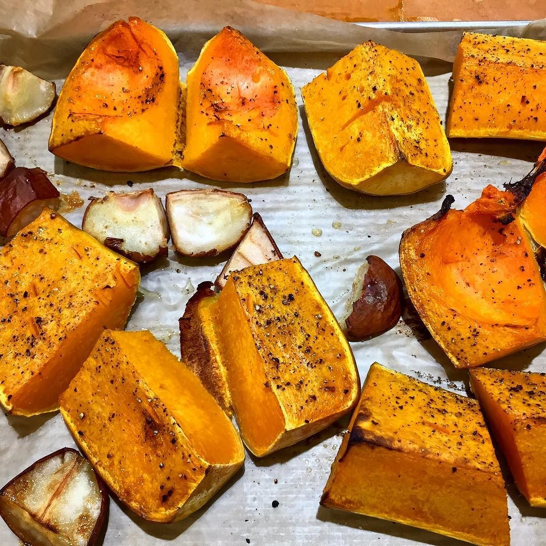 Main Ingredient Recipes: Roasting Up Butternut Squash And Bosc Pears As Our Main