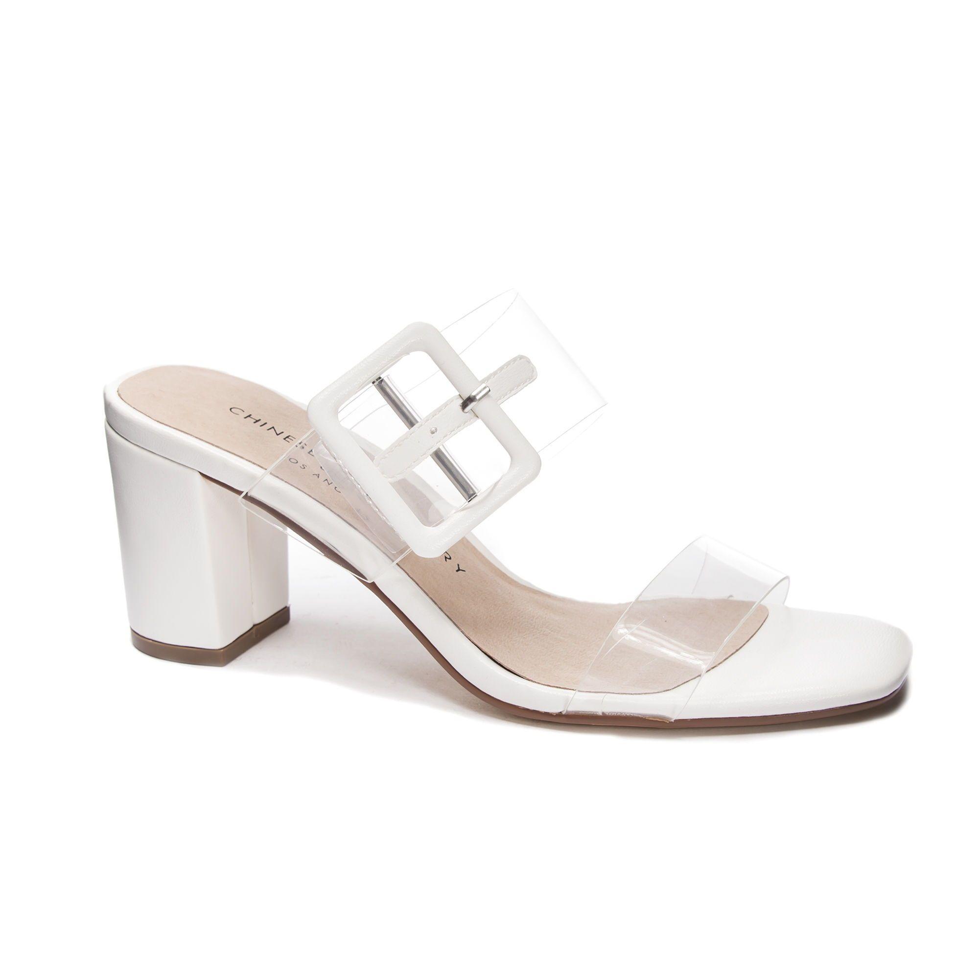 Yippy Slide Sandal   White sandals