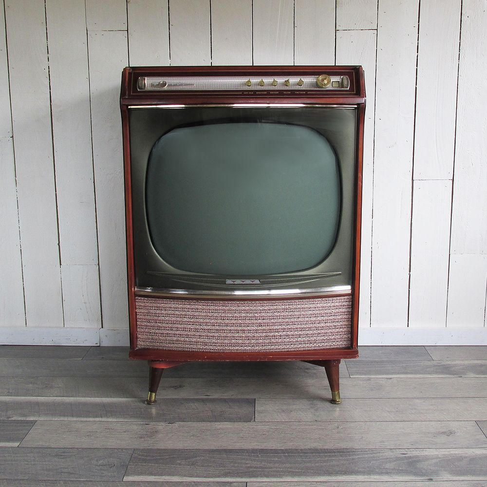 1958 console television sears silvertone medalist 24 tv. Black Bedroom Furniture Sets. Home Design Ideas