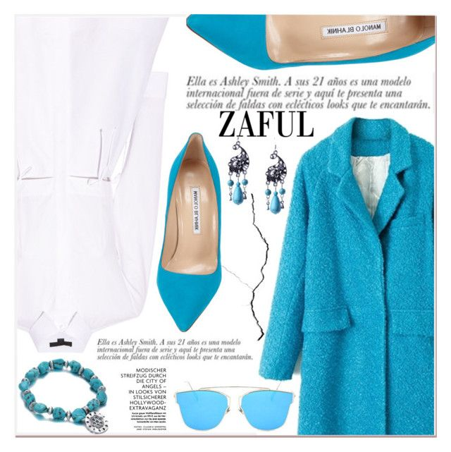 """www.zaful.com/?lkid=7011"" by lucky-1990 ❤ liked on Polyvore featuring Alexander Wang, Manolo Blahnik and zaful"