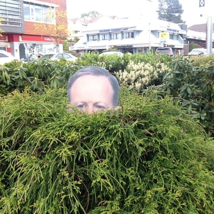 This Woman Actually Made A Sean Spicer Lawn Ornament To