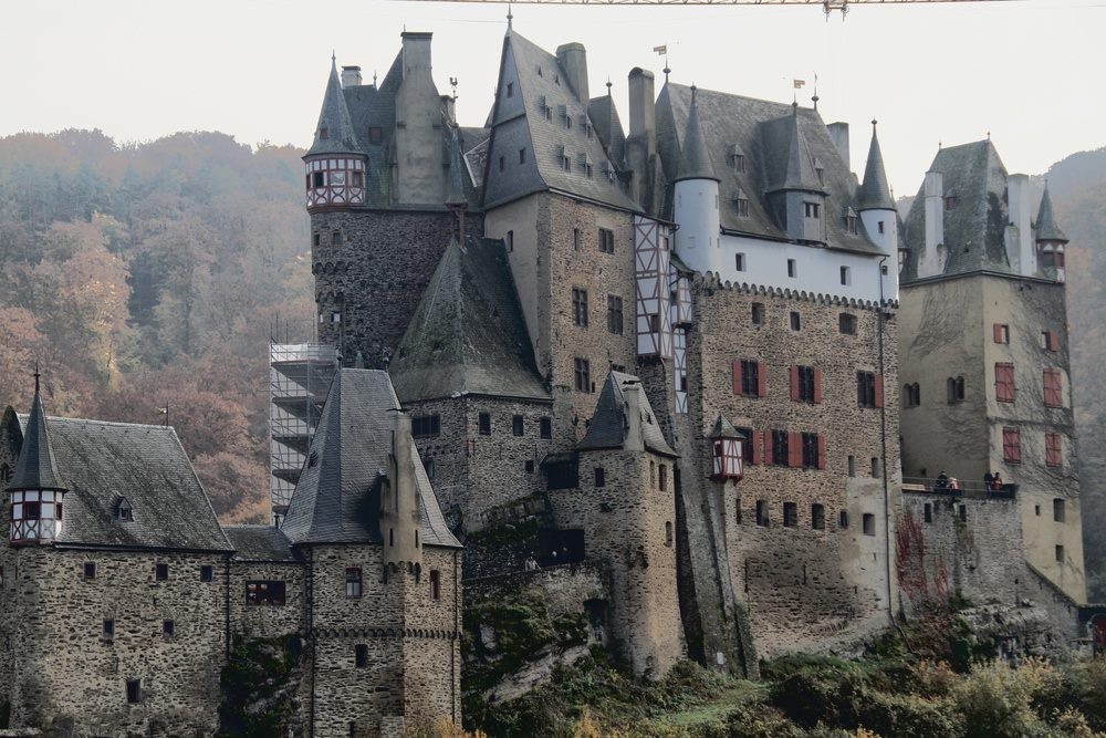 Eltz Castle German Burg Eltz Is A Medieval Castle Nestled In The Hills Above The Moselle River Between Koblenz And T Castle Medieval Castle European Castles