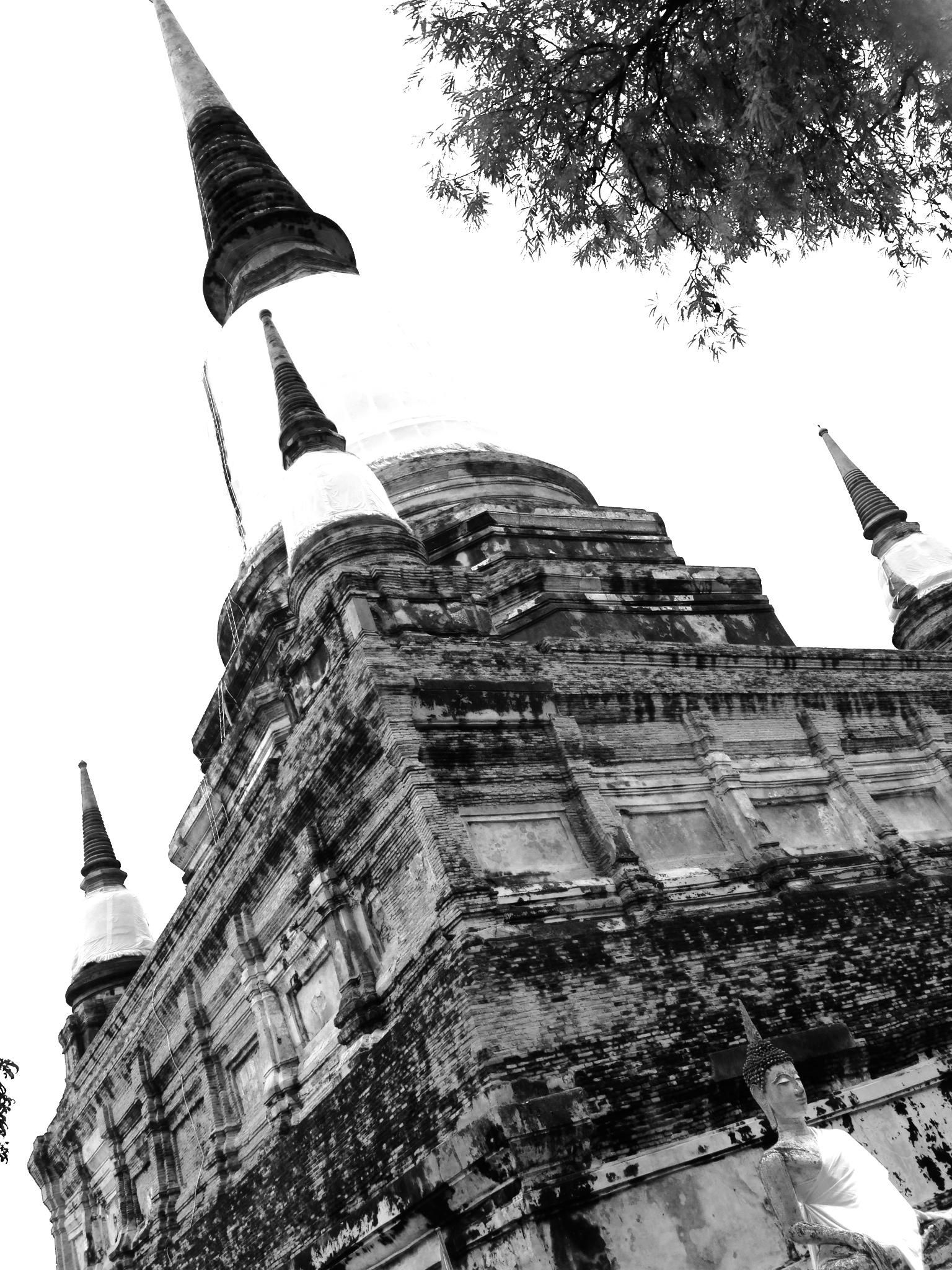 Temple II, Ayutthaya, Thailand | by Alexandra Du Sold
