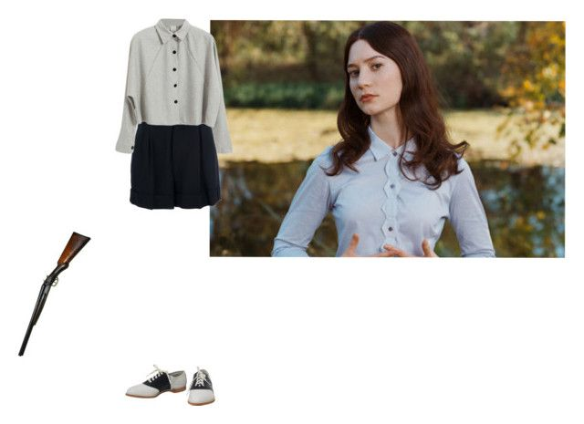 """""""Sin título #423"""" by w3ll ❤ liked on Polyvore featuring Marc by Marc Jacobs, stoker, MiaWasikowska and parkchanwook"""