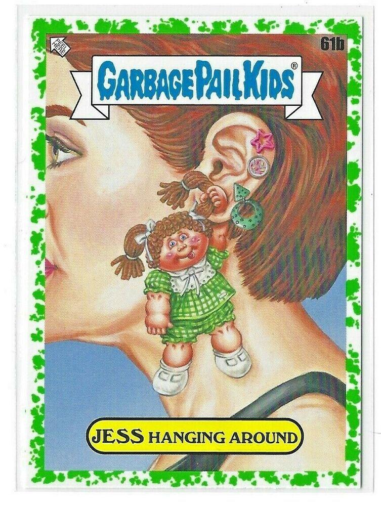 2020 garbage pail kids 35th anniversary Jess Hanging Around 61b