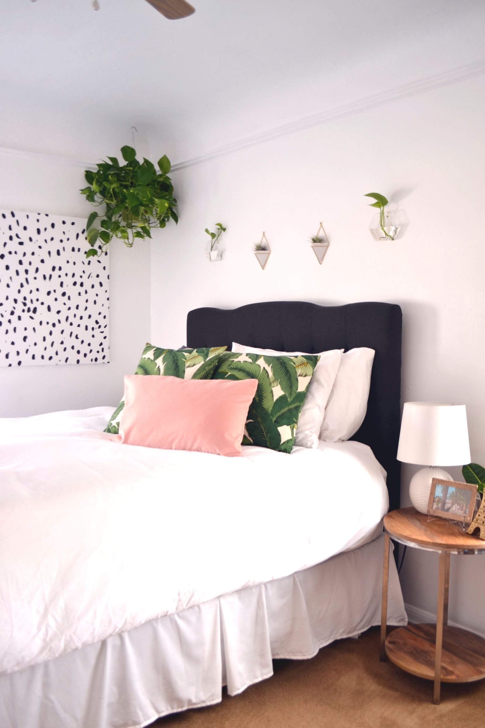 Master bedroom with 2 beds  Master Bedroom Revamp by Southern California Interiors consultant