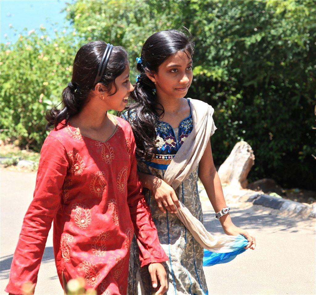 Trincomalee Romantic in cute girl