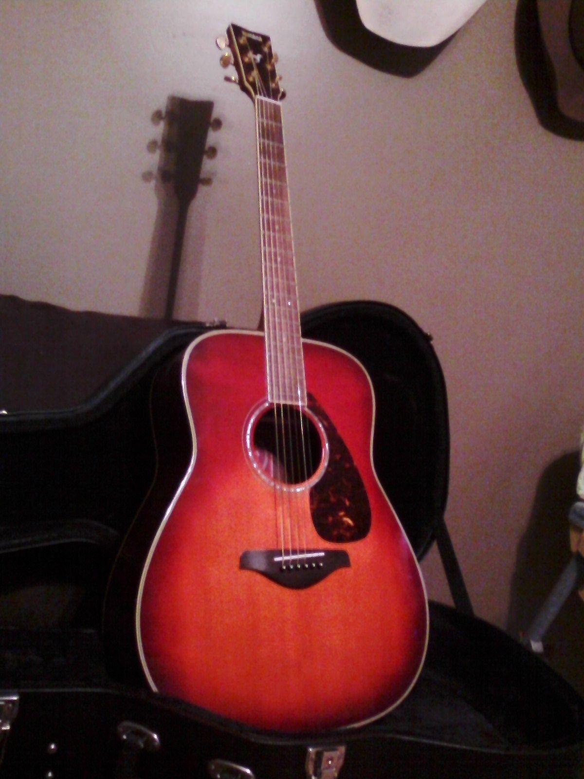 Yamaha Fg735s Vcs Acoustic Guitar Guitar Acoustic Guitar Ukulele Music