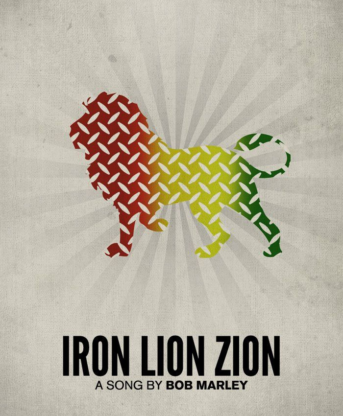 iron, like a lion, in zion ...