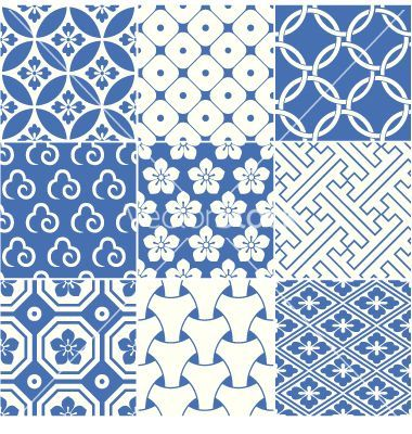 Vintage japanese traditional pattern vector - by paul_june on ...