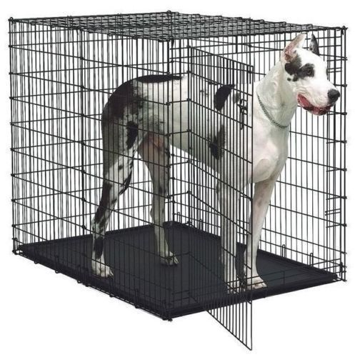 Xxl Dog Kennel Crates Extra Large Travel Crate Wire Safe Cages Colossal 54 Inch Dog Crate Large Dog Crate Big Dog Crates