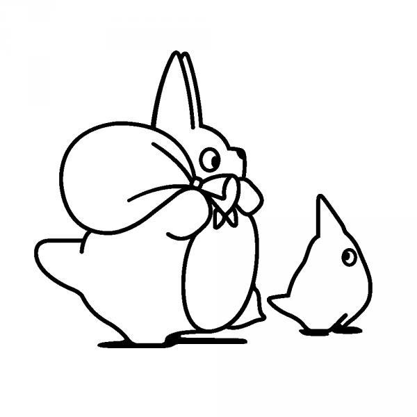 Stickers Totoro ghibli | kawaii totoro | Pinterest | Estudio ghibli ...