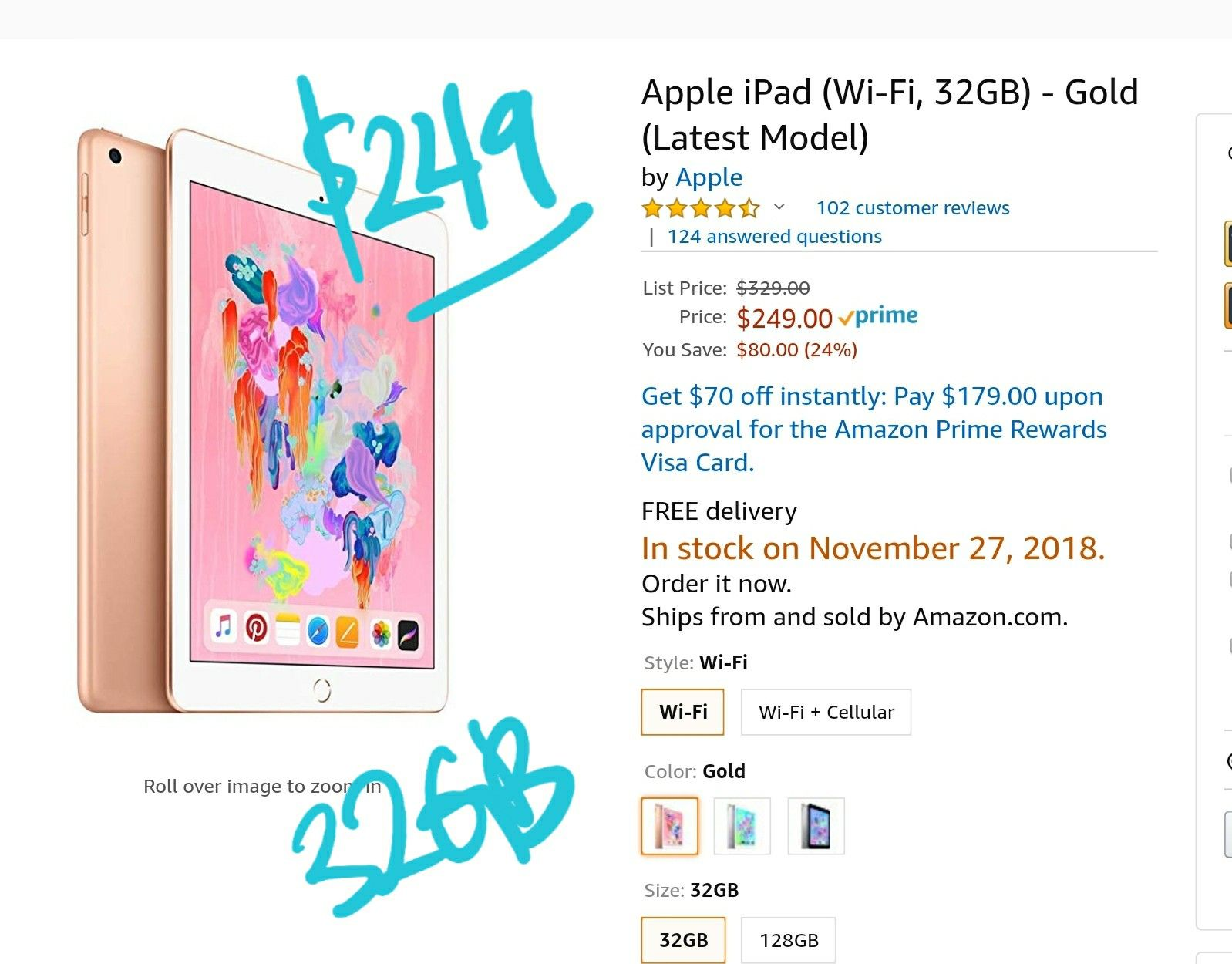 249 Ipad 2018 Apple Ipad Latest Ipad Ipad