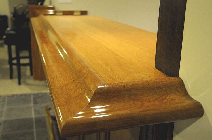 Lumber For Bar Top Custom Bar With Cherry Wood Bar Top Wood Bar Top Custom Made Furniture Wood Bars